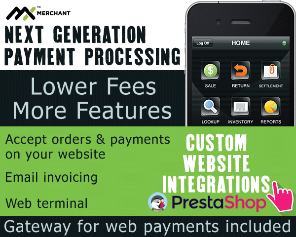 Website Payment Processing